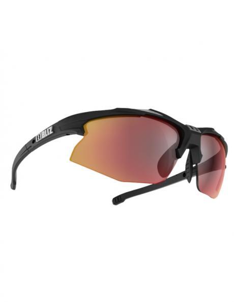BLIZ Спортивные очки со сменными линзами Active Hybrid Black/Silver Артикул: 52806-54