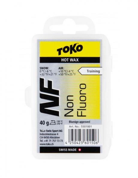 TOKO Парафин NF TRAINING HOT WAX YELLOW (0/-6), 40 г Артикул: 5501001