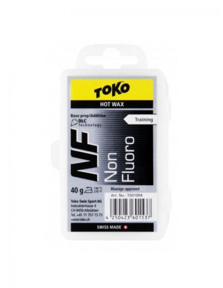 TOKO Парафин базовый TRAINING NF HOT WAX BLACK, 40 г Артикул: 5501004