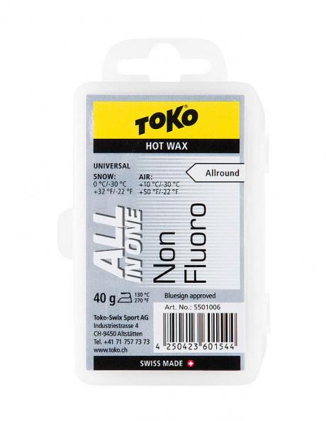 TOKO Парафин NF All-in-one Hot Wax, 40 г Артикул: 5501006