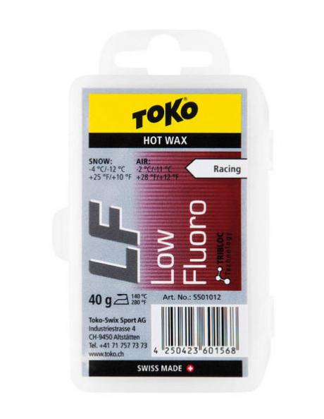TOKO Парафин низкофтористый PERFORMANCE RED (-2/-11), 40 г Артикул: 5501016