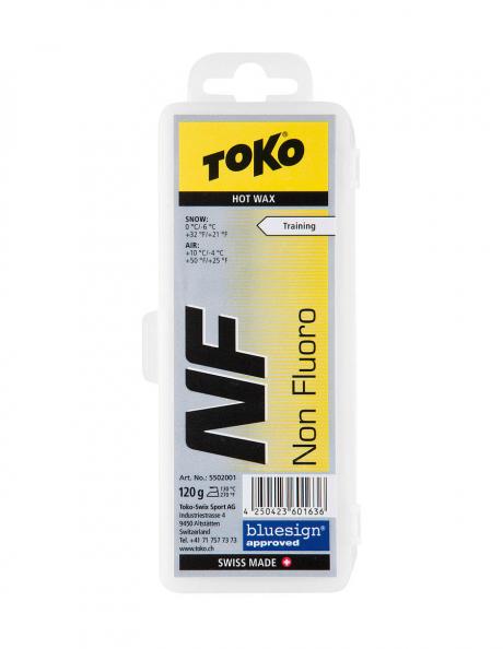 TOKO Парафин NF TRAINING HOT WAX YELLOW (0/-6), 120 г Артикул: 5502001