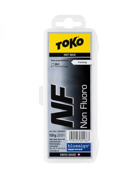TOKO Парафин базовый TRAINING NF HOT WAX BLACK, 120 г Артикул: 5502004
