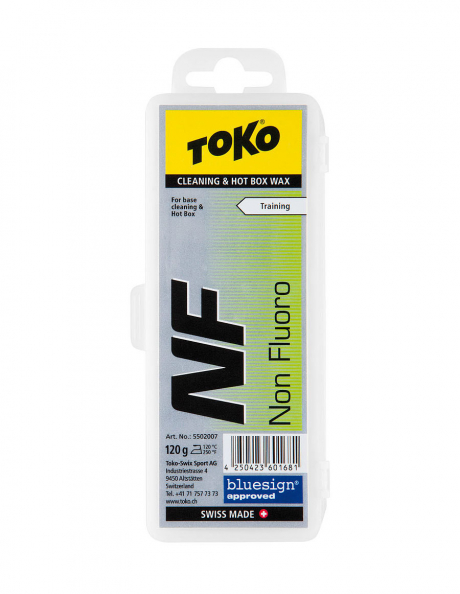 TOKO Парафин NF Cleaning & Hot Box Wax, 120 г Артикул: 5502007
