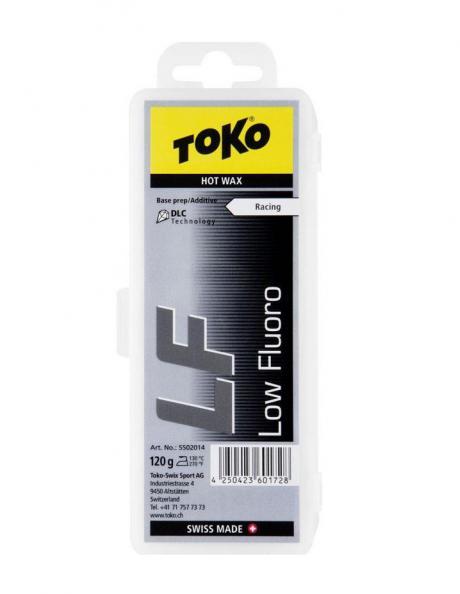 TOKO Парафин низкофтористый базовый LF RACING HOT WAX BLACK, 120 г Артикул: 5502014