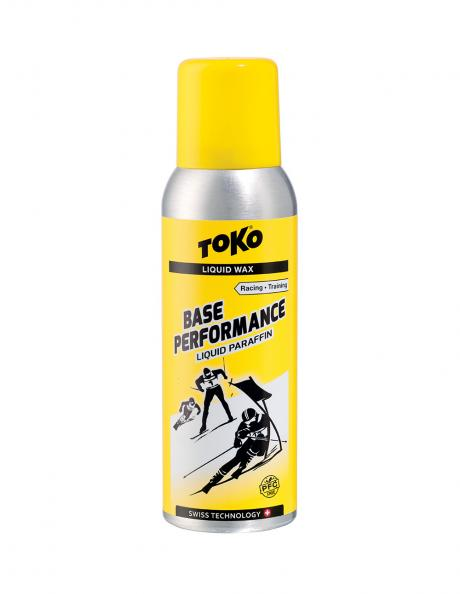 TOKO Парафин жидкий BASE PERFORMANCE YELLOW (+10/-4), 100 мл Артикул: 5502044