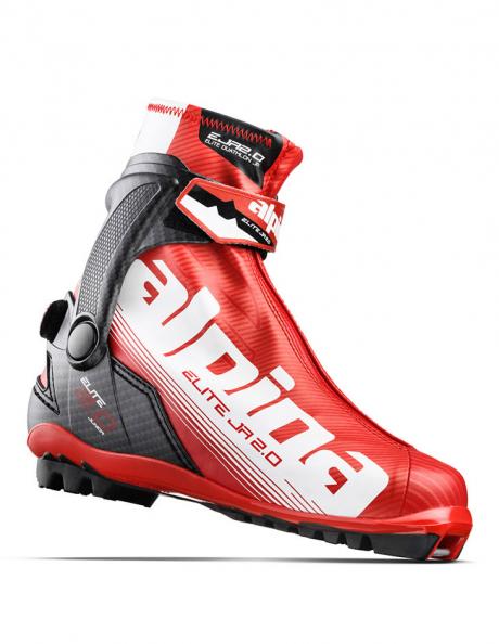 ALPINA Лыжные ботинки ED 2.0 JR RED/BLACK/WHITE Артикул: 5546