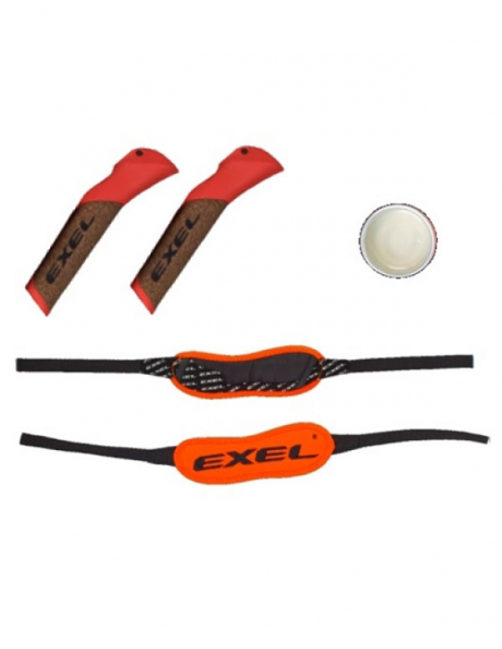 EXEL Комплект: Ручки C CORK, темляк BIATHLON STRAP L, клей Артикул: M-PSE0313