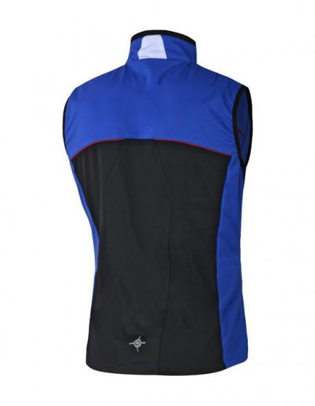 NONAME Жилет FLOW IN MOTION VEST 15 UNISEX BLUE зимний разминочный, синий Артикул: 680146