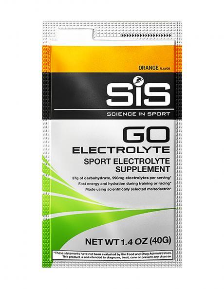 SIS Напиток углеводный с электролитами в порошке GO ELECTROLYTE апельсин, 40 г Артикул: 816435020564