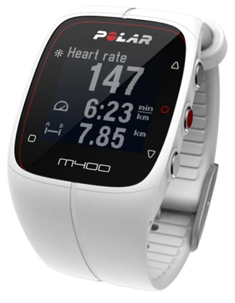 POLAR Спортивные часы M400 HR WHITE Артикул: 90053838