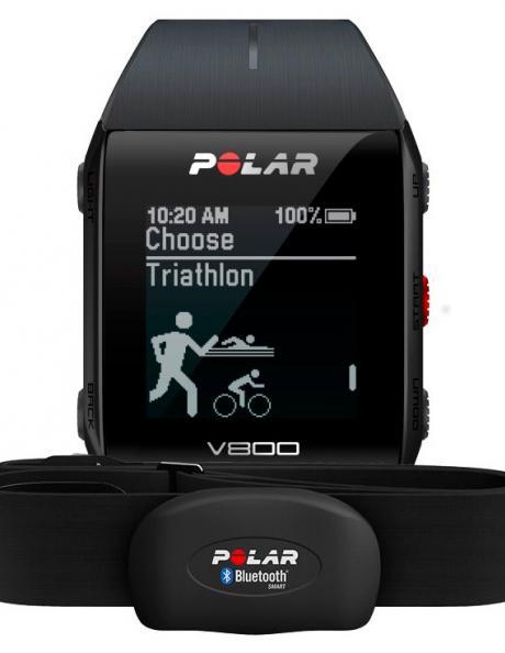 POLAR Спортивные часы V800 BLACK H10 Артикул: 90060770