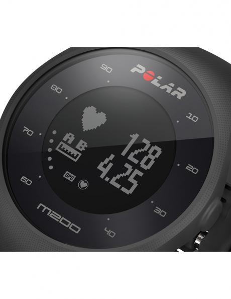 POLAR Спортивные часы M200 BLACK Артикул: 90061201