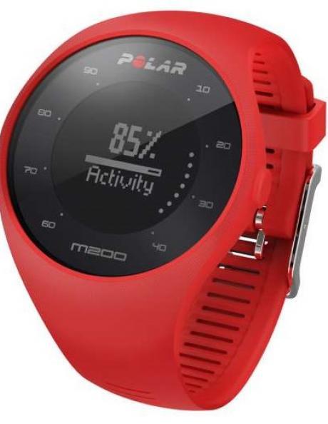 POLAR Спортивные часы M200 HR RED Артикул: 90061217