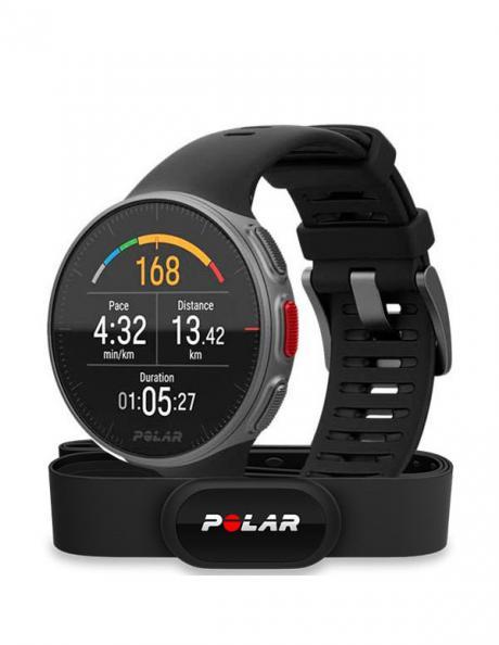 POLAR Спортивные часы VANTAGE V BLK HR Артикул: 90069634