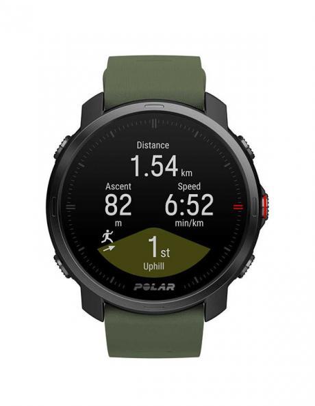 POLAR Спортивные часы GRIT X BLK/GRN M/L Артикул: 90084210