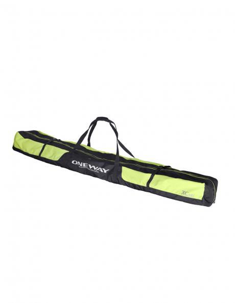 ONE WAY Чехол для лыж SKI BAG BLACK YELLOW Артикул: 90088