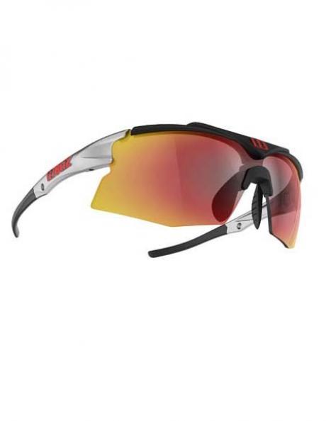 BLIZ Спортивные очки со сменными линзами Active Tempo Smallface Shiny Silver/Black Артикул: 9025-14