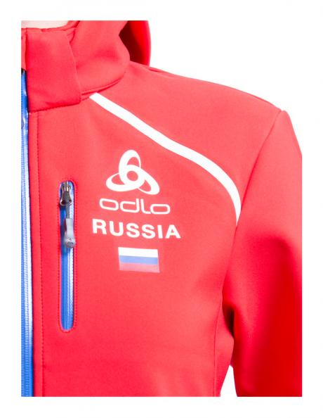 ODLO Куртка женская SOFTSHELL SOCHI RUSSIA Артикул: 592101