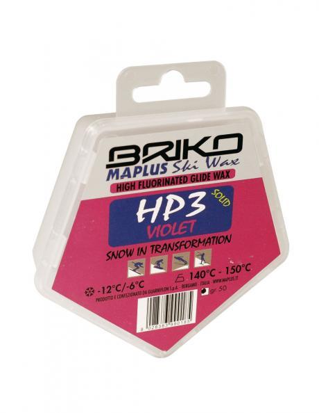 BRIKO-MAPLUS Парафин высокофтористый HP3 VIOLET (-6/-12), 50 г Артикул: BMW0902