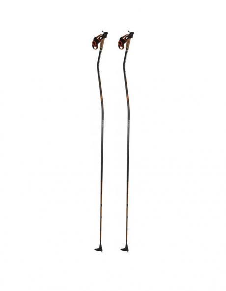 EXEL Лыжные палки X-CURVE X-HMC BLACK/ORANGE Артикул: XCC13001
