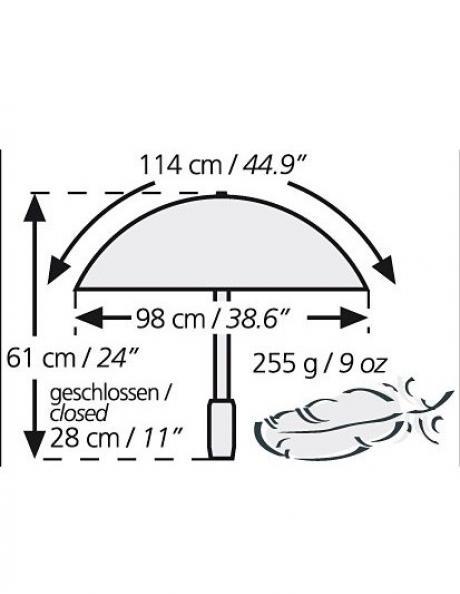 EUROSCHIRM Зонт треккинговый LIGHT TREK Артикул: 3029