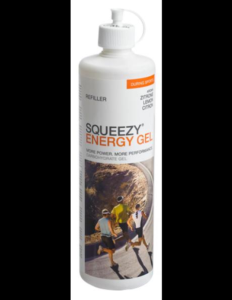 SQUEEZY Гель энергетический в бутылке ENERGY GEL лимон, 500 мл Артикул: GE0020