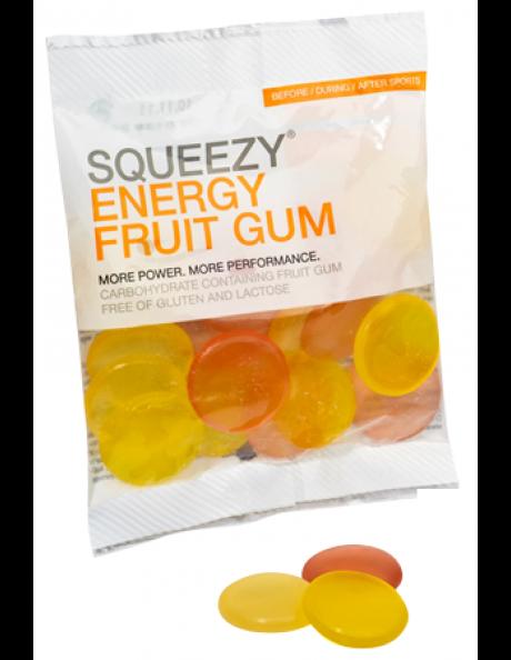 SQUEEZY Конфеты ENERGY FRUIT GUM фрукты, 50 г Артикул: GE0026