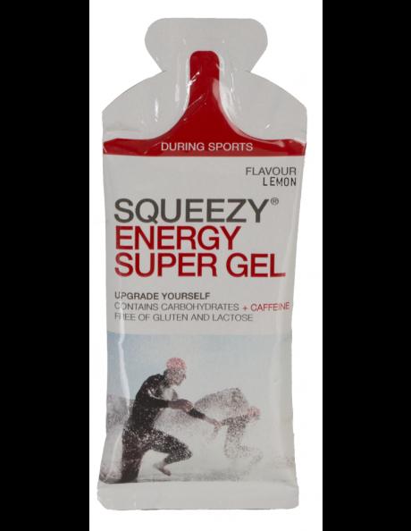 SQUEEZY Гель энергетический ENERGY SUPER GEL кола+кофеин, 33 г Артикул: GE1007-U