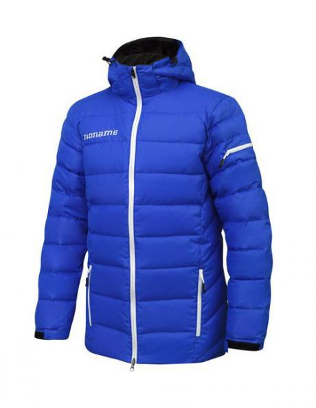 NONAME Куртка HEAVY PUFFY DOWN JACKET 18 UNISEX Blue Артикул: HPDJKT18UX