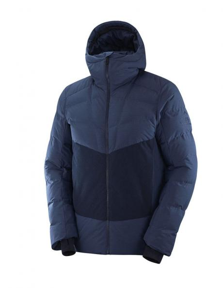 SALOMON Куртка мужская SNOWSHELTER Dark Denim / Night Sky Артикул: LC1402100