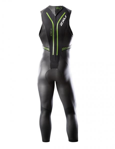 2XU Гидрокостюм мужской A:1S черный/зеленый Артикул: MW2305c