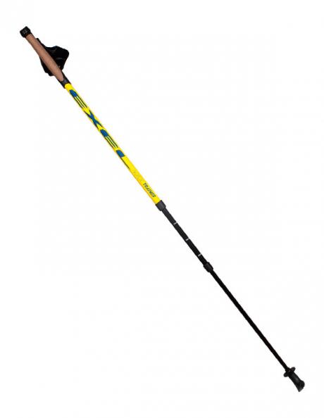 EXEL Палки для ходьбы телескопические NORDIC TRAINER ADJ/ALIS NEON YELLOW Артикул: NWP15022