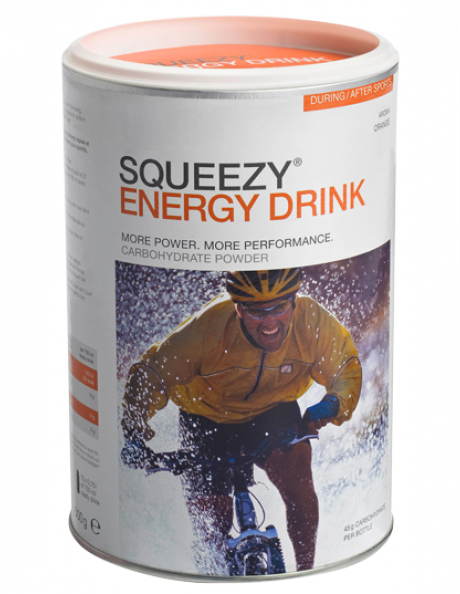 SQUEEZY Напиток изотонический ENERGY DRINK апельсин, 500 г Артикул: PU0002