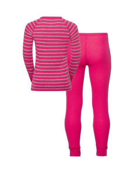 ODLO Комплект детский - футболка с длинным рукавом + рейтузы WARM KIDS Артикул: 150409