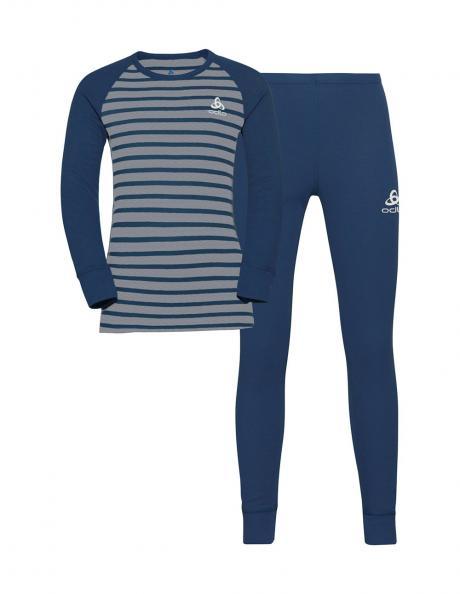 ODLO Комплект детский: футболка с длинным рукавом + рейтузы ACTIVE WARM ECO KIDS Артикул: 159239