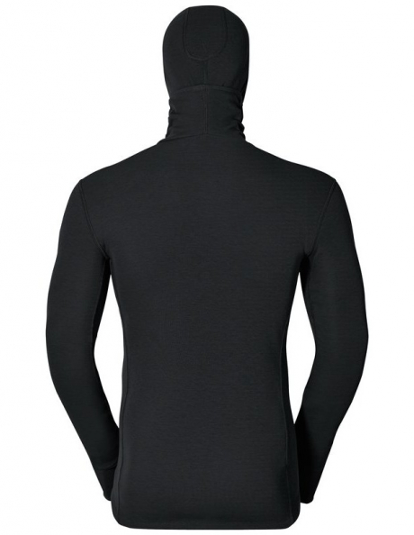 ODLO Футболка c длинным рукавом с капюшоном и маской мужская WARM Артикул: 152072