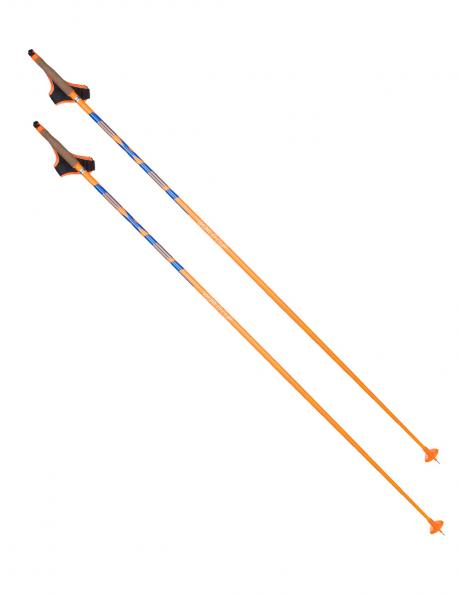 EXEL Лыжные палки WORLD CUP XR-109 ORANGE/BLUE Артикул: XCR16002