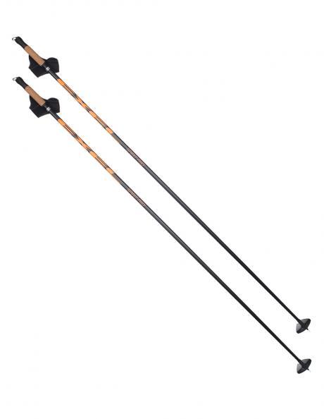 EXEL Лыжные палки SPIRIT PRO JR BLACK/ORANGE Артикул: XCS16031