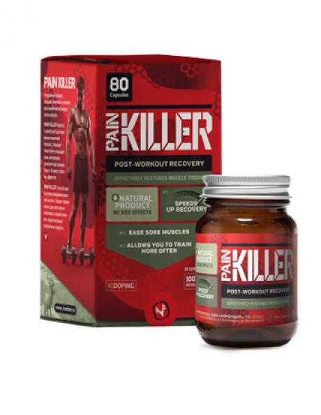 IRONDEER Спортивная добавка PAINKILLER 80 капсул Артикул: АД-005