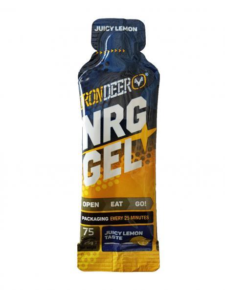 IRONDEER Энергетический гель NRG GEL лимон Артикул: АД-011