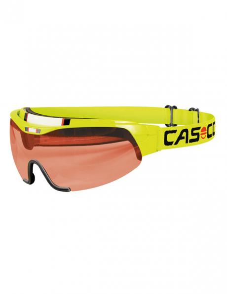 CASCO Лыжные очки SPIRIT VAUTRON NEON YELLOW Артикул: 07.1226