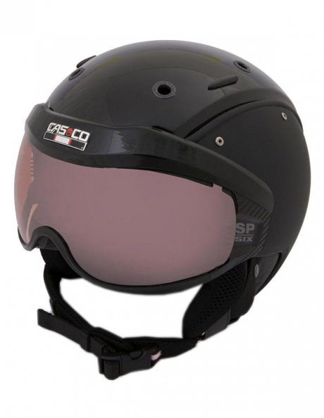 CASCO Лыжный шлем SP-6 BLACK VAUTRON VISIER Артикул: 07.2553