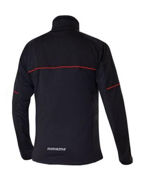 NONAME Куртка FLOW IN MOTION JACKET 18 UNISEX BLACK лыжная разминочная, черный Артикул: FIMJ18BLACK