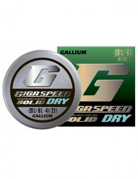 GALLIUM Фторовая спрессовка GIGA SPEED SOLID Dry Артикул: GS2101
