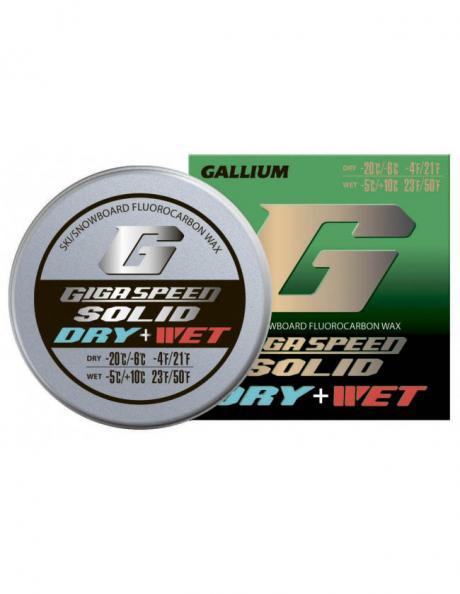 GALLIUM Набор из фторовых спрессовок GIGA SPEED SOLID Dry + Wet Артикул: GS2201