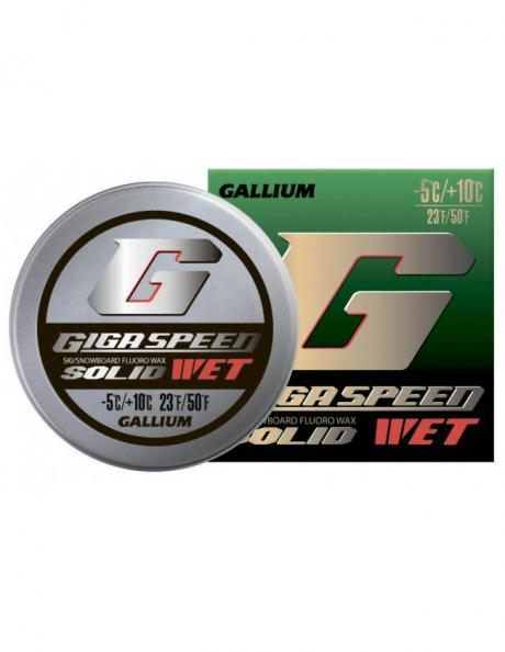 GALLIUM Фторовая спрессовка GIGA SPEED SOLID Wet Артикул: GS2301
