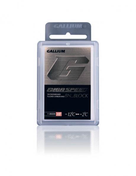 GALLIUM Экстра-высокофторовый парафин со специальной добавкой GIGA SPEED BN BLOCK Артикул: GS4004