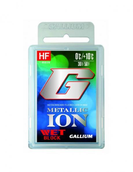 GALLIUM Высокофторовый парафин METALLIC ION Wet Артикул: GS5004