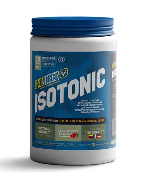 IRONDEER Изотонический напиток ISOTONIC 600 г малина Артикул: ИЗ-002